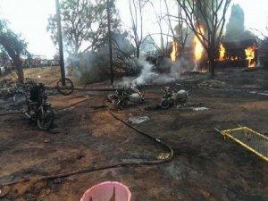 Akaryakıt kamyonu patladı: 57 ölü