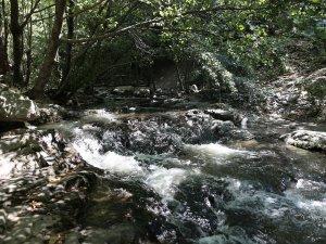 Bursa'da bu kanyona gelenler üşüyor
