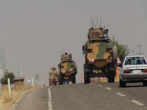 Suriye'ye askeri sevkiyat yapıldı