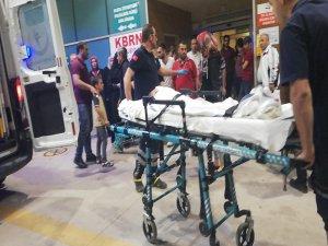 Bursa'da kaza! Ölümden döndü...