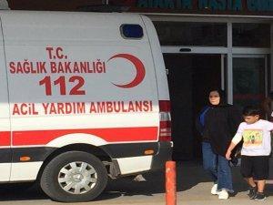 Bursa'da küçük çocuğun tehlikeli oyunu!