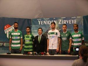 Bursaspor'da imza şov