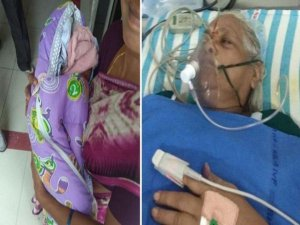 74 yaşında ikiz doğurdu