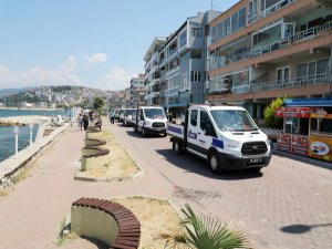 Bursa'da zabıta işbaşında!