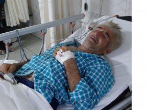Bursa'da çiftçi ölümden döndü