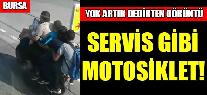 Bursa'da yok artık dedirten görüntü