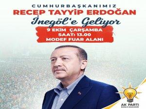 Bursalılara Erdoğan'ı karşılama daveti
