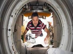 Uzayda bir ilk!