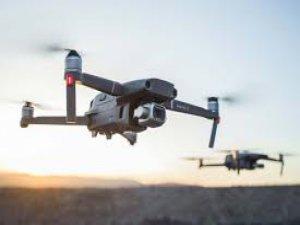 Bursa'da  drone ile mücadele