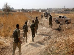 Suriye ordusu o kente girdi