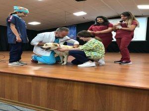 Öğrencilere hayvan sevgisi aşıladı