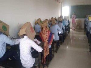 Öğrencileri kolilediler