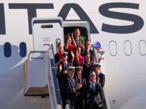 Dünya'nın en uzun ticari uçuşu