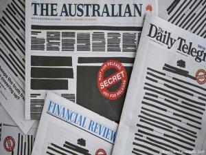 Gazeteler sayfalarını kararttı