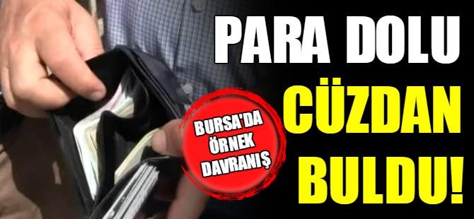 Bursa'da örnek davranış