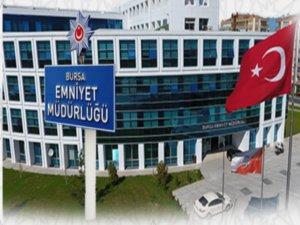 Bursa'da yeni görevlendirmeler