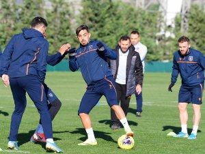 Başakşehir maç hazırlıkarına devam ediyor