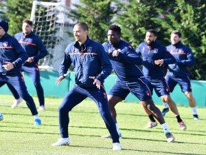 Başakşehir maç hazırlıklarını tamamladı