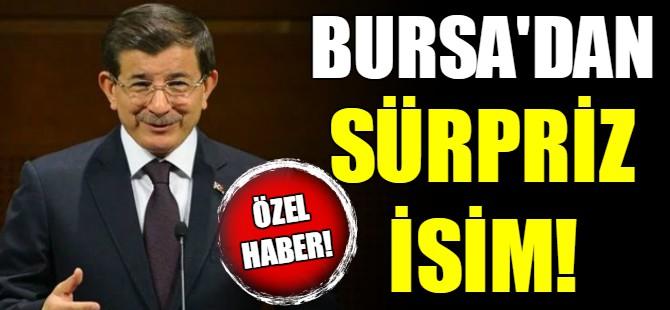 Davutoğlu'nun partisine sürpriz isim!