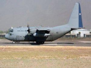 Şili'de kaybolan uçaktan ilk görüntüler