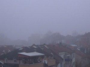 Bursa'yı sis kapladı