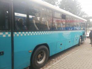 Otobüste uyuyan kadına taciz