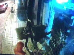 Jet hırsızlık kamerada