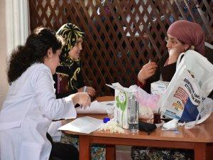 Köylerde sağlık taraması