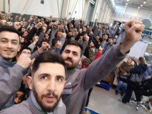 Bursa'da işçiler ayaklandı