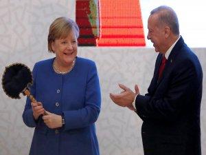 Erdoğan'ın hediyesini görünce...