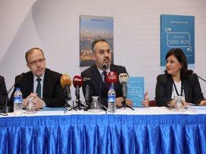 Bursa'dan Kudüs'e destek