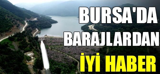 Bursa'da barajlar dolmaya başladı