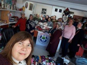 Bursalı esnaf kadınlar Elazığ'ı unutmadı