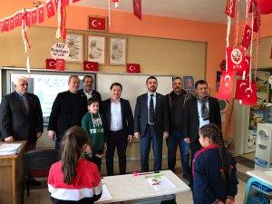 Bursaspor Başkanı'ndan Kestel'e ziyaret