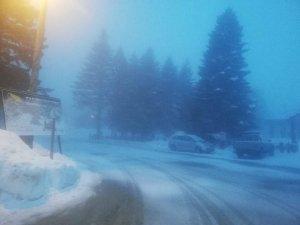 Uludağ'da kar sürprizi!