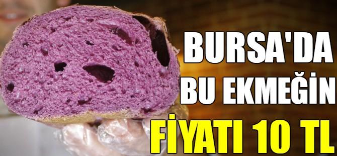 Bursa'da bu ekmeğin fiyatı 10 TL