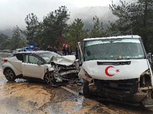 Bursa'da kaza: 5 yaralı