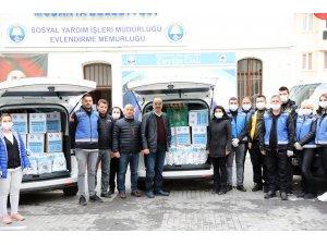 Mudanya Belediyesi'nden Korona Yardımı