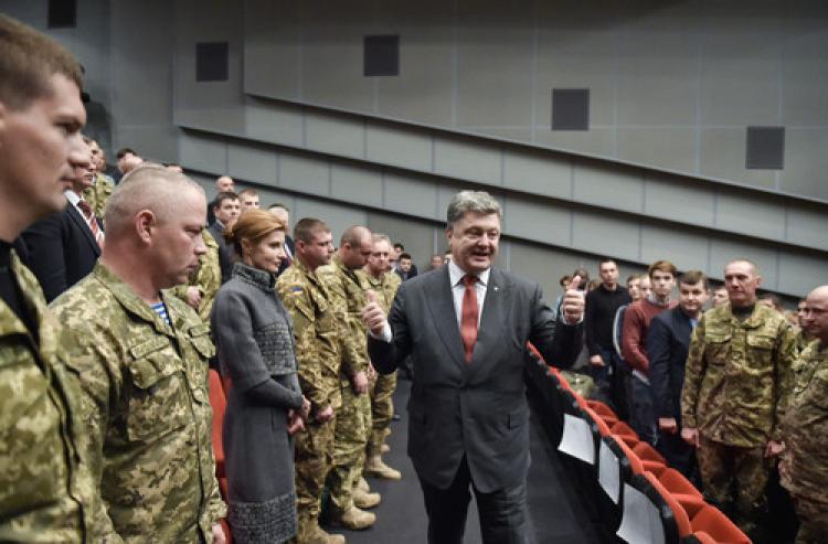 Ukrayna'da cepheye giden yabancılara vatandaşlık imkanı