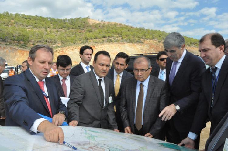 Enerji Bakanı Alaboyun, Akkuyu NGS sahasını inceledi