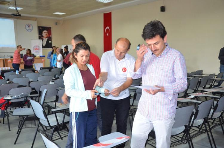 Adana'da düzenlenen oryantiring hakem kursu tamamlandı