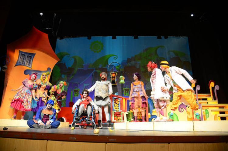 Büyükşehir'den, çocuklara tiyatro şöleni
