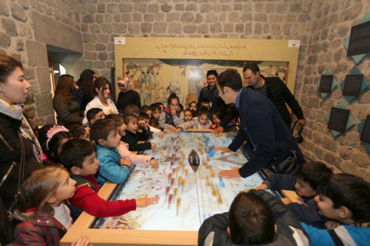 Selçuklu Müzesi, her hafta öğrencilere gezdiriliyor