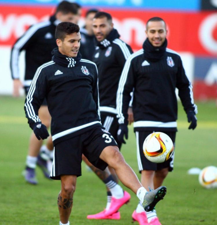 Beşiktaş, Lokomotiv Moskova maçı hazırlıklarını tamamladı