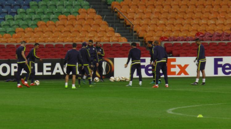 Fenerbahçe, Ajax maçı öncesi son antrenmanını yaptı