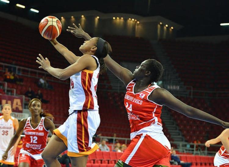 Galatasaray: 59 - Villeneuve D'ascq: 35
