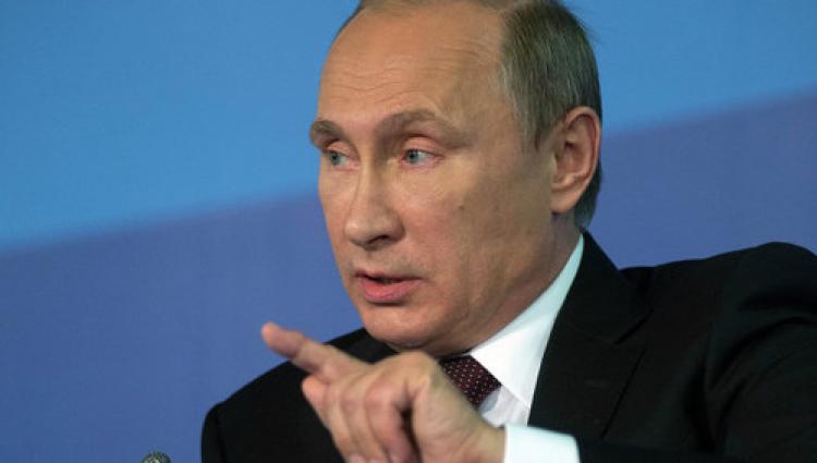Putin halka seslendi: Tek yumruk olursak zafer bizim olur!