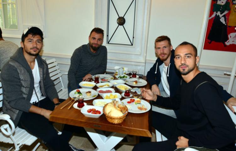 Bursaspor, kahvaltıda buluştu