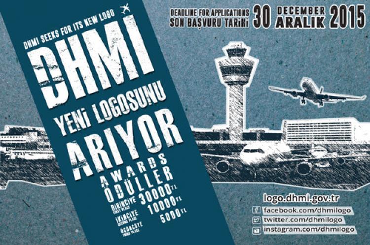 DHMİ'den 30 bin lira ödüllü logo yarışması