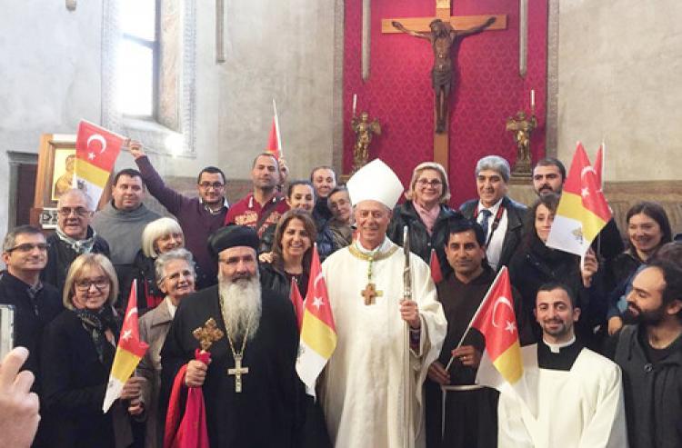 Papa Francesco, İskenderun'a görevlendirdi